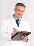 Mature doctor Royalty Free Stock Photos