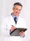 Mature doctor Royalty Free Stock Photos