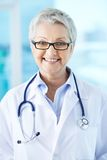 Mature doctor Royalty Free Stock Images