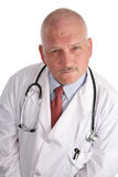 Mature Doctor - Serious Stock Photography