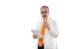 Mature doctor Stock Image