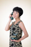 Mature elegant Asian woman Royalty Free Stock Photos