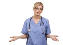 Mature female doctor Stock Photo