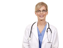 Mature female doctor Royalty Free Stock Photos
