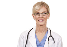 Mature female doctor Stock Images