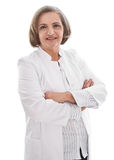 Mature female doctor Stock Photography