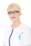 Mature female doctor or nurse Stock Photography
