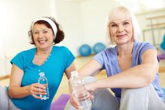 Mature females Stock Photography