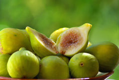 Mature figs. Royalty Free Stock Photos