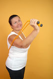 Mature fitness Stock Image