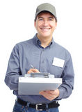 Mature handsome worker. Royalty Free Stock Photography