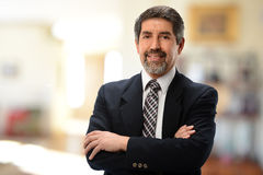 Mature Hispanic Businessman Stock Photography