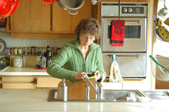 Mature Housewife. stock images