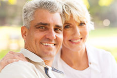Mature husband wife Royalty Free Stock Photography