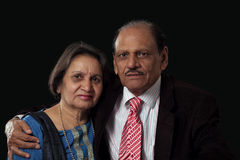 Mature indian couple Royalty Free Stock Photography