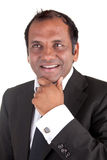 Mature indian man in a business dress Stock Photography
