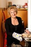 Mature italian woman Stock Photography