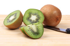 Mature juicy a kiwi Royalty Free Stock Images