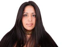 Mature latin woman Stock Image