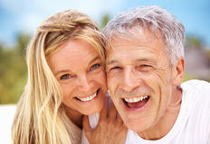 Mature love Stock Photography