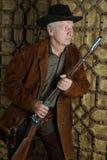 Mature male Bandit Stock Photo