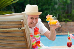 Mature man Royalty Free Stock Image