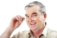 Mature man Royalty Free Stock Photo