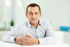 Mature man Royalty Free Stock Images
