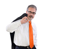 Mature man Royalty Free Stock Photos