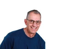 Mature man in glasses Stock Photography