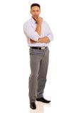Mature man looking Stock Photo