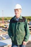 Mature man manual worker Stock Photos