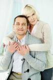 Mature man and woman Stock Photo