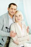 Mature man and woman Stock Photography