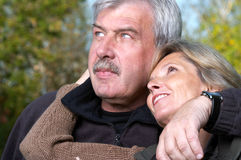 Mature man and woman Stock Image