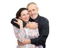 Mature Man and Woman Stock Image