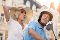 Mature man and woman. Stock Images