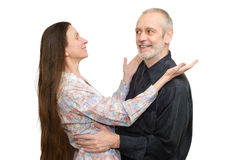 Mature Man and Woman Royalty Free Stock Images