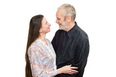 Mature Man and Woman Stock Images