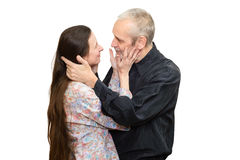 Mature Man and Woman Royalty Free Stock Photos