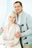 Mature man and woman Royalty Free Stock Photos