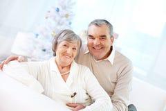 Mature man and woman Stock Photo