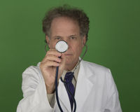 Mature Medical Doctor Royalty Free Stock Image