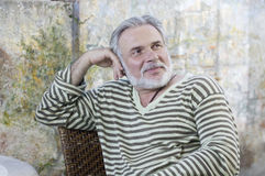 Mature men outdoors Stock Photos