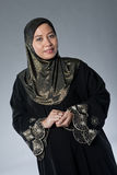 Mature Muslim Malay woman in studio Stock Photography