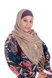 Mature Muslim woman in scarf Stock Image