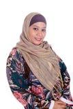Mature Muslim woman in scarf. Beautiful mature Muslim woman in scarf Stock Image