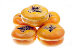Mature persimmons Royalty Free Stock Images