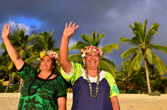Mature Polynesian Pacific Island Women Royalty Free Stock Image