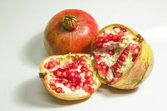 Mature pomegranate Stock Image